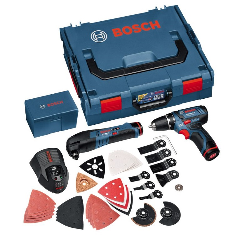Мультитул Bosch GOP 10,8 V-LI Set 060185800J