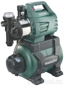 Фото Насосная станция Metabo HWWI 3500/25 Inox 600970000 Startool.ru