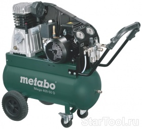 Фото Компрессор Metabo MEGA 400-50 D 601537000 Startool.ru