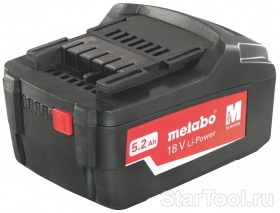 Фото Аккумулятор Metabo 18В Li Power Plus 625457000 Startool.ru