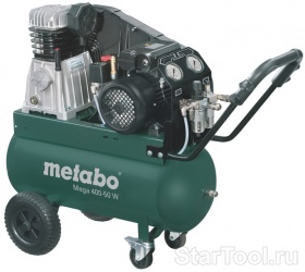Фото Компрессор Metabo MEGA 400-50 W 601536000 Startool.ru