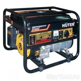 Фото Электрогенератор HUTER DY3000L Startool.ru