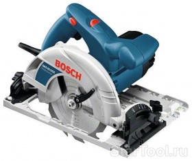 Фото Ручная циркулярная пила Bosch GKS 55 плюс GCE Professional 0601682101 Startool.ru