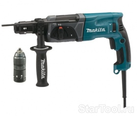Фото Перфоратор Makita HR2470FT (HR 2470 FT) Startool.ru