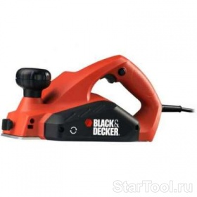 Фото Рубанок Black&Decker KW 712KA Startool.ru