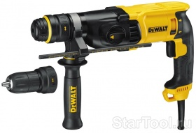 Фото Перфоратор DeWalt D 25134 K Startool.ru