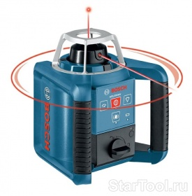 Фото Ротационный лазерный нивелир Bosch GRL 300 HV Set 0601061501 Startool.ru