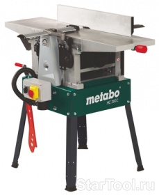 Фото Фуговально-рейсмусный станок Metabo HC 260 C DNB Startool.ru