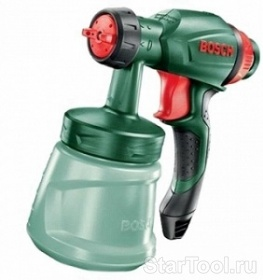 Фото Пистолет краскораспылителя Bosch 1600Z0000H Startool.ru