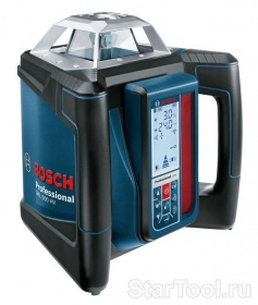 Фото Ротационный лазерный нивелир Bosch GRL 500 HV + приёмник LR 50 Professional 0601061B00 Startool.ru
