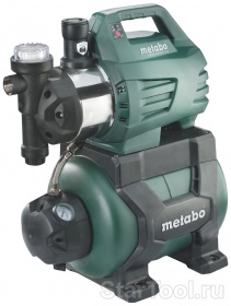Фото Насосная станция Metabo HWWI 4500/25 Inox 600974000 Startool.ru