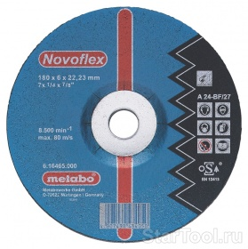 ���� ���������� ���� Metabo ����� Novoflex 230x6,0 616468000 Startool.ru