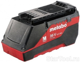 Фото Аккумулятор Metabo 36 В, 4.0 Ач, LI-Power Extr 625528000 Startool.ru