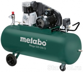Фото Компрессор Metabo Mega 520-200 D 601541000 Startool.ru
