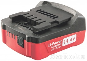 Фото Аккумулятор 14,4В 1,5 Aч,Li Power Compact Metabo 625498000 Startool.ru