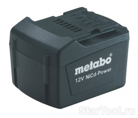Фото Аккумулятор Metabo 12В, 1.7 Ач NiCd-Power (BS12NiCd ст) 625452000 Startool.ru