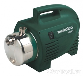 Фото Насос Metabo P 4000 S 0250400140 Startool.ru
