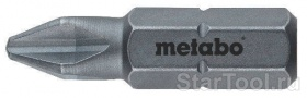 Фото Бит Metabo Torsion Phillips 1 (25 мм, 2шт) 631520000 Startool.ru