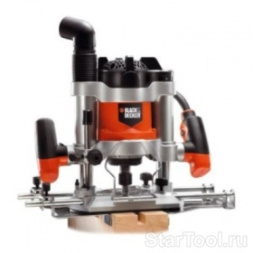 Фото Фрезер Black&Decker KW 1600 EKA Startool.ru