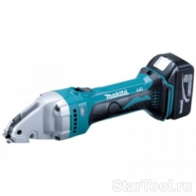 Фото Аккумуляторные листовые ножницы Makita BJS161RFE Startool.ru