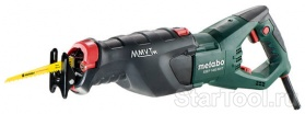 Фото Сабельная пила Metabo SSEP 1400 MVT 606178500 Startool.ru