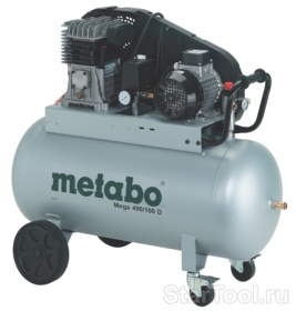 Фото Компрессор Metabo Mega 490/100 D Startool.ru