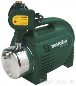Фото Автоматический насос Metabo HWA 4000 S 0250400100 Startool.ru